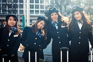Japanese Flight Attendants