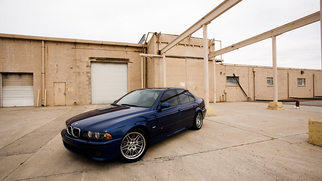 2003 blue german bmw m5 azh2o
