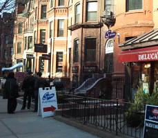 Sarni Cleaners, Newbury Street, Back Bay, Boston (mmkwan) Tags: boston newburystreet backbay drycleaner delucasmarket sarnicleaners