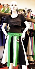 falda plato (plyades-ropa tejida) Tags: color thread dress skirt cotton seda ropa falda algodon tejida pleyades