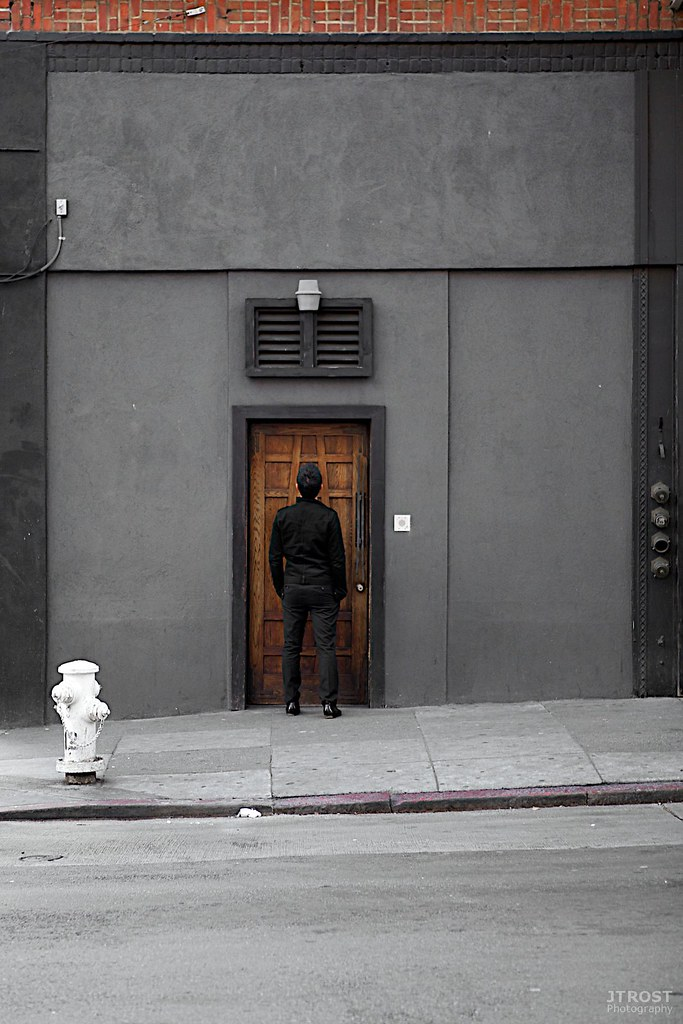 Unmarked Tenderloin Door