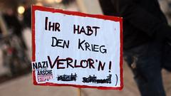 Meile der Demokratie, Nazis Wegbassen 2012 29