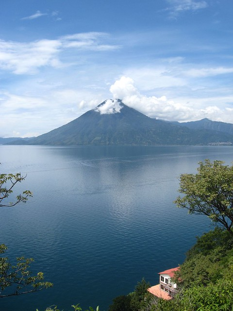 Lake Atitlan, where my internship was located