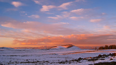 Morocco - Middle Atlas Mountain - Ifrane - Mishlifen - Sunset (aminefassi) Tags: africa winter light sunset copyright sun mountain snow nature beautiful clouds digital montagne canon golden soleil twilight sonnenuntergang hiver ixus morocco hour maroc atlas neige nuage blanc  crepuscule wheater marokko meteo maruecos moyen 860 maroko morokko ifrane atardacer michlifen mishlifen aminefassi