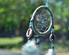 Dreamcatcher Revisited (.:Bambi:.) Tags: blue nikon 1855mm dreamcatcher revisit d3100 nikond3100