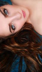 say it to me now. (Jenny Founds) Tags: selfportrait girl hair spring eyes nikon break makeup teenage
