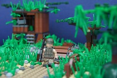 'Nam [Lonely Boy] V2 ([Stijn Oom]) Tags: plants brick green lego contest scene vietnam soldiers ba build baf nam proto m60 32x32 brickarms dutchlego