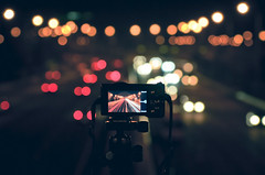 (jim_213) Tags: road light night bokeh sony a55 sal1680z
