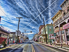 Virginia City (jackaloha2) Tags: canon bars nevada historic virginiacity boardwalks oldwest comstocklode saloons nationalhistoricdistrict miningtowns goldandsilver boomtowns topazadjust magicunicornverybest magicunicornmasterpiece jackaloha2 photoshopcs5