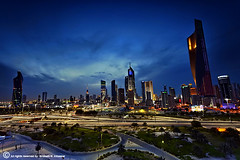 My Heart in  My City ((Kuwait City)) (ibrahem N. ALNassar) Tags: city canon heart mark ii 5d usm ef 1740mm f4 q8 my