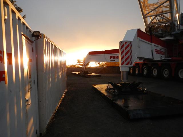 Siemens wind turbines Raftsjöhöjden