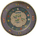 "<b>Porcelain Plate</b><br/> Unknown (Chinese) Porcelain Plate Cloisonne, n.d. LFAC #1994:12:44<a href=""http://farm8.static.flickr.com/7195/6916693387_5e2d8d58bb_o.jpg"" title=""High res"">∝</a>"