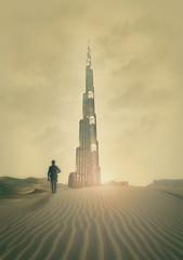 Dune (Nicoco Maillet) Tags: building tower photoshop tour desert dune sable nicolas script paysage immeuble compositing babel maillet aaronnace larouflaquette