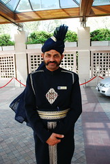 Traditional (Let Ideas Compete) Tags: new people india costume dress faces delhi traditional newdelhi doorman rajasthani incredibleindia
