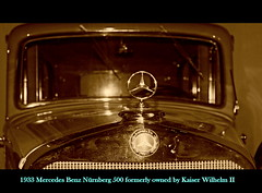 1933 Mercedes Benz Nrnberg 500 formerly owned by Kaiser Wilhelm II (PictureJohn64) Tags: auto heritage classic car by museum mercedes benz automobile driving traffic famous den transport hague collection ii commercial transportation owned historical kaiser 500 haag collectie formerly nrnberg fahrzeug 1933 oto wilhelm historisch verkeer vervoer klassiek  samochd beroemd gravenhage otomobil louwman automobiel worldcars  automoviel klassiesch