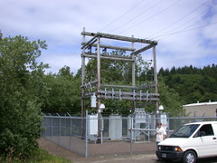 Pacific Power & Light substation [Explored] (NDLineGeek) Tags: