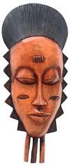 10Y_0913 (Kachile) Tags: art mask african tribal ctedivoire primitive ivorycoast gouro baoul nativebaoulmasksaremainlyanthropomorphicmeaningtheydepicthumanfacestypicallytheyarenarrowandfemininelookingincomparisontomasksofotherethnicitiesoftenfeaturenohairatallbaoulfacemasksaremostlyadornedwithvarioustrad