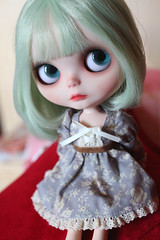 lady Gominola (* MeiMei * commission list closed) Tags: new dress blythe custom simply peppermint meimei hola rbi gominola