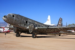 C-117  The Boneyard Project at Pima Air & Space Museum (flyingaxel) Tags: museum tucson aviation pima douglas airandspace c117 theboneyardproject