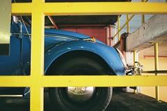 Swedish Beetle (kenzodiazepine) Tags: film vw volkswagen flag beetle swedish contax swedishflag