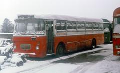 staffs - berresfords cheddleton withdrawn 92fxd depot 3-79 JL (johnmightycat1) Tags: bus staffordshire birchbros