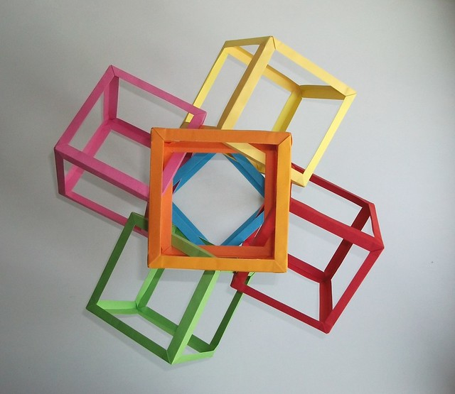 Six Intersecting Squares Cubed #2