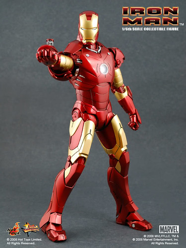 Hot Toys Iron Man Mark III