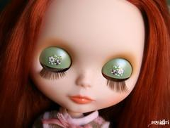 Isabelle's eyelids :)