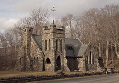 Little Stone Church (scottnj) Tags: ny newyork church steeple explore allsoulschurch tannersville stonechurch explored tannersvilleny scottnj scottodonnellphotography churchstoneallsoulschurchnytannersville