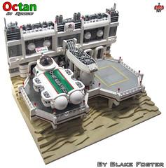 Octan in Space (Blake Foster) Tags: classic lego space minifig diorama minifigure moc afol cuusoo octan foitsop lego:theme=space lego:scale=minifig