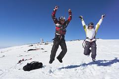 Col des Supeyres - February, 2012 (RodaLarga) Tags: snow france lumix jump jumping lx5 supeyres