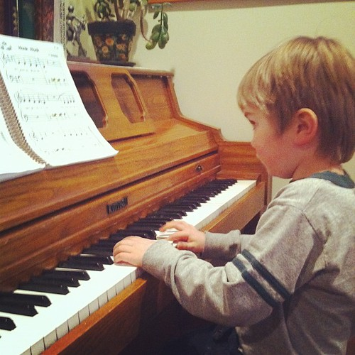 Happy 32nd birthday Music for Young Children #MYC #piano - my kids are way ahead of me