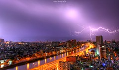 Lightning view from my Balcony (azahar photography) Tags: lightning hcmc ilobsterit architecture building cities colored hochiminh landmark saigon vitenam above aerial asia asian balcony blue bright chi city cityscape colors day destination ho hotel house light local mi minh modern old panorama panoramic roof sky skyline skyscraper sun sunny tourism tower town traditional travel urban vietnam vietnamese view