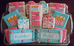 Birthday Celebration Tray