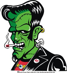 rockabilly frankee the sticker (robolove3000) Tags: green leather monster japanese sticker cigarette earring nuclear retro godzilla frankenstein button hotrod rockabilly decal vector gojira ratfink bigdaddy flyingeyeball edroth ducksoupsigns 6088737341 rockabillyfrankenstein