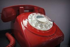 (andrewlee1967) Tags: telephone retro red andrewlee1967 sonynex3 rotorydial andrewlee
