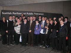 "With pupils from Bannerman High School in Baillieston • <a style=""font-size:0.8em;"" href=""http://www.flickr.com/photos/78019326@N08/6981884879/"" target=""_blank"">View on Flickr</a>"