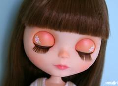 Rosie's eyelids :)