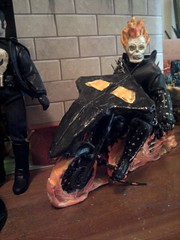 Ghost Rider (catersondamon) Tags: black hot museum america comics paul suck justice dc dolls wasp thing brian ghost balls lick celebration eat doctor crap pile captain shit hawkeye mansion custom thor testicles marvel widow society rider panther clarke league forward avengers steaming mego customize leitner