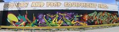 cutlery wall  -cove, kane, jash (httpill) Tags: streetart chicago art wall graffiti cove tag graf kane cutlery dc5 jash httpill