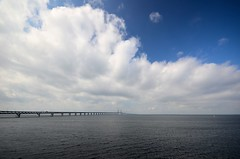#0754 Endless. ***EXPLORED*** (Fjordblick) Tags: bridge blue sky water clouds wasser day waves cloudy schweden himmel wolken blau brcke endless resund wellen resundsbron swe resundsbroen limhamn thegalaxy oresundsbron resundbridge mygearandme blinkagain vigilantphotographersunite vpu2 vpu3 vpu4 vpu5 vpu6 vpu7 vpu8 vpu9 vpu10