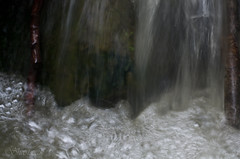 Water Fall (Shastajak) Tags: macro water rock 50mm waterfall pentax bubbles handheld waterplay k5 macromondays sigma50mm128dgmacro pentaxk5