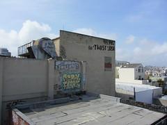 SESTOR / FERAL / FLEKS / TWIST / JOSH (Same $hit Different Day) Tags: graffiti bay san francisco twist zee josh area pvc feral wkt sestor fleks