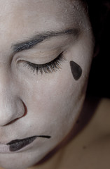 55/366. (Sleeping with the light on) Tags: me self project sadness tristeza tears day sad portait mimo dia days triste selfportait 365 tear dias lagrimas proyecto lagrima 366 365days 365daysproject 365project 365dias proyecto365dias