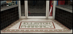 Former Elliston Pharmacy (jeremy.fountain) Tags: tn nashville mosaictile ellistonplace davidsoncountytn jeremyfountaincom
