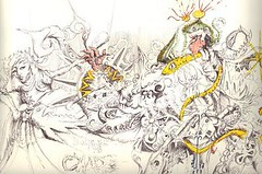 TheDeparture_small (LouisBraquet) Tags: original art pen ink sketch drawing originalart surrealism dream surreal fantasy surrealist dreamlike mythology unconscious penandink jungian freudian hallucinogenic psychoanalysis fantasticrealism subconscious psychoanalytical mythologicalart modernsurrealism modernsurrealist unconsciousimagery