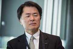 Mitsuhiko Yamashita attending the meeting