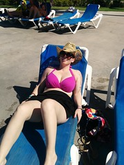 sun bathing (broox) Tags: travel mobile cleavage karibrooks