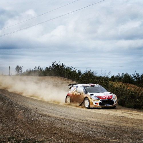 #WRC #RallydePortugal #Citroen #DS3