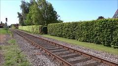 SCM Steamtrain in the direction of Eeklo. (Franky De Witte - Ferroequinologist) Tags: de eisenbahn railway estrada chemin fer spoorwegen ferrocarril ferro ferrovia